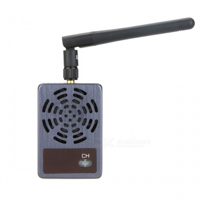 Boscam TS5832 5.8GHz 32-CH 2000mW Thunderbolt Wireless Transmitter - Black + Dark Brown boscam 5 8ghz cloud spirit antennas txa and rxa a pair in one set multicolored