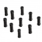 ZnDiy-BRY M3 12mm Aluminum Alloy Hexa Spacer Pillars for RC Models - Black (10 PCS)