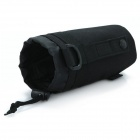 Convenient Outdoor Camping Kettle Bottle Nylon Cover Bag - Black
