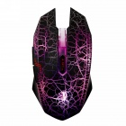 Dare-u USB 2.0 Wired LED Optical 4000DPI Gaming Mouse - Black (Cable-180cm)