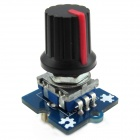 Volume Control / Pulse Potentiometer Knob 360' Rotary Incremental Encoder Module for Arduino Board