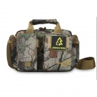 JUNGLE MAN Outdoor Multifunctional Waterproof Messenger Bag - Maple Camouflage (10L)