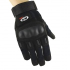 OUMILY Outdoor Tactical Full-Finger Gloves - Black (Size L / Pair)