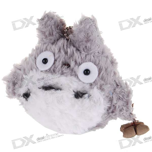 Cute Totoro Soft Doll Keychain Toy