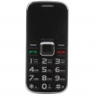 "GUSUN F10 Quad-Band GSM Bar Phone w/ 2.0"" Screen, FM,Flashlight for Elderly - Black"