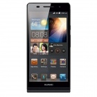 "HUAWEI P6S Quad-Core Android 4.2 WCDMA Bar Phone w/ 4.7"" Screen, Wi-Fi, RAM 2GB and ROM16GB - Black"