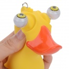 Silicone Little Duck Vent Toy - Orange + Red