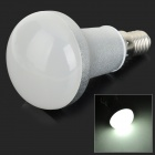 ZDM E14 5W 350lm 6000K 10-SMD 2835 LED White Light Spotlight - White + Silver (AC 100~240V)