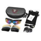 OBAOLAY SP0869 Cycling UV400 Protection Myopia Frame + Red REVO Lens Polarized Sunglasses / Goggles