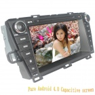 "LsqSTAR 8"" Android4.0 Capacitive Screen Car DVD Player w/ GPS FM BT Wifi SWC TV AUX for Toyota Prius"
