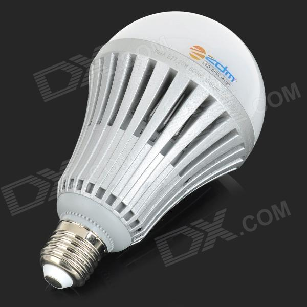 zdm e27 20w 1800lm 40 smd 5730 led cool white light bulb. Black Bedroom Furniture Sets. Home Design Ideas