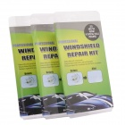 Original DIY Car Automobile Windshield Windscreen Automobles Glass Repair Kit (3 PCS)