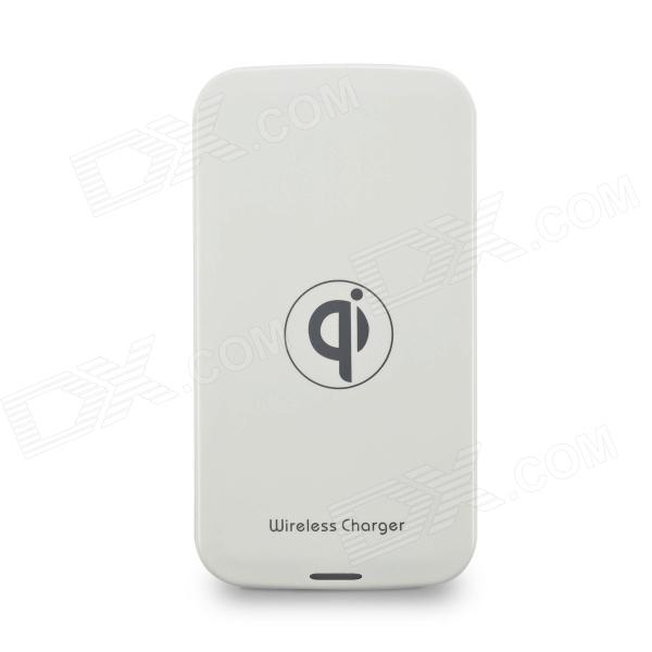 FTQI-001A Qi Standard Wireless Charger for IPHONE / Nokia / LG / Samsung - White (100~240V)