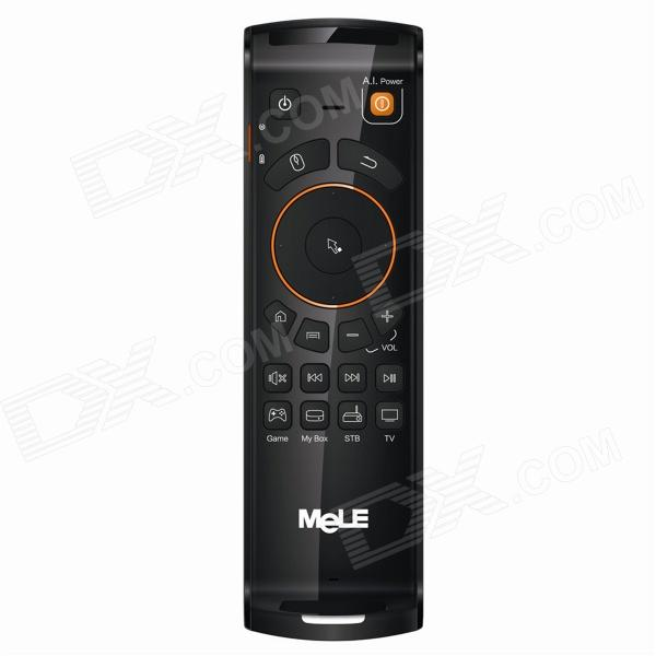 MeLE F10 Deluxe 2.4GHz Fly Mouse w/ G-sensor / Gyro / Keyboard for Android TV Box Mini PC - Black eesx472 sensor mr li