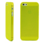 Ultrathin Protective Matte PC Hard Back Case for IPHONE 4 / 4s - Yellow