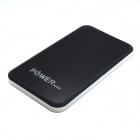 J-008 Universal 5V 4500mAh Li-Polymer Battery Power Bank w/ Touch Control - Silvery White + Black