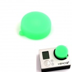 PANNOVO Professional Protective Silicone Lens Cover Cap for GoPro Hero 3 / 3+ - Green