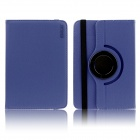 ENKAY 360' Rotary Protective Flip Open Case w/ Stand for 9'' / 9.4'' / 10'' Tablet PC - Deep Blue