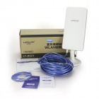 LAFALINK LF-D521 2.4GHz 150Mbps Outdoor Wireless Network Card w/ USB Cable / 14dBi Antenna - White