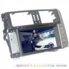 "LsqSTAR 8"" Android4.1 Capacitive Screen Car DVD Player w/ GPS WiFi SWC Canbus AUX for Toyota Prado"