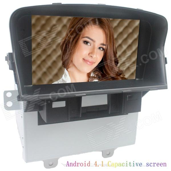 LsqSTAR 7 Android4.1 Capacitive Screen Car DVD Player w/ GPS WiFi BT Canbus AUX for Chevrolet Cruze автомобильный dvd плеер oem dvd chevrolet cruze 2008 2009 2010 2011 gps bluetooth bt tv