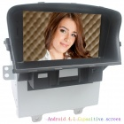 "LsqSTAR 7"" Android4.1 Capacitive Screen Car DVD Player w/ GPS WiFi BT Canbus AUX for Chevrolet Cruze"
