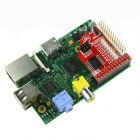 Two Way  IO Protection GPIO Expansion Board w/ Selectable Voltage - Red