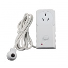 TS-818AU Energy-Saving 2400W 10A 240V AU Plug TV IR Sensor Switch Socket - White