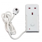 TS-818UK Energy-Saving 2900W 13A 230V UK Plug TV IR Sensor Switch Socket - White