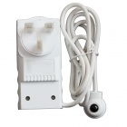 TS-818UK ahorro de energía 2900W 13 A 230V enchufe de Reino Unido TV IR Sensor Switch Socket - Blanco