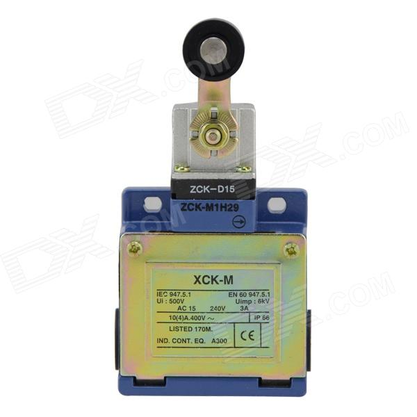 XCK-M115 Waterproof AC 240V 3A Limit  / Travel Switch - Blue + Grey