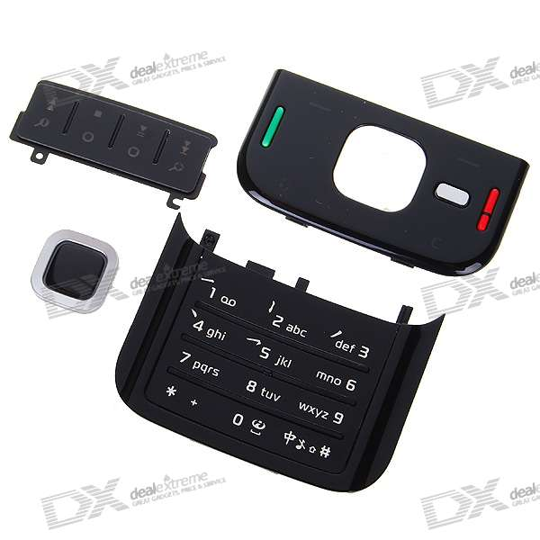 Repair Parts Replacement Keypad for Nokia N85 (Black)