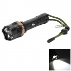 Pange XM-L T6 5-Mode Rotate Zooming 700LM Cool White 400M Range Tactical LED Flashlight (1 x 18650)