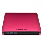"CHEERLINK ODP1201-S USB 3.0 12.7mm External ODD & 2.5"" HDD Device Enclosure for Laptops - Deep Pink"