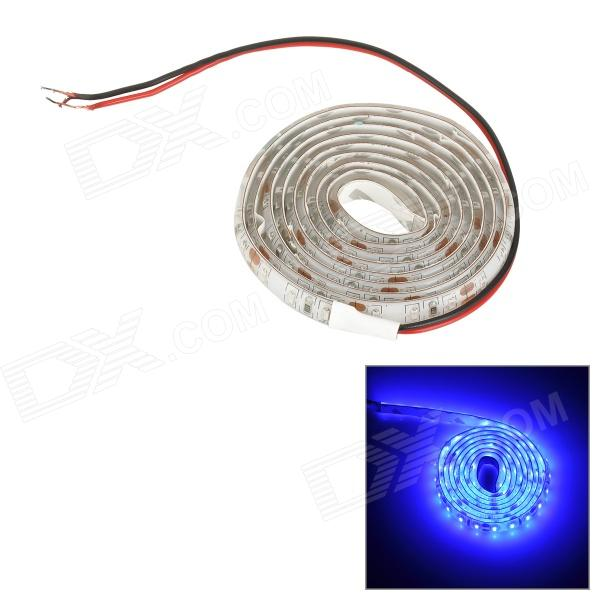 SENCART Waterproof 7.5W 40lm 490nm 120-SMD 3014 LED Blue Light Strip - White (DC 12V / 100cm)