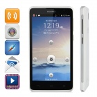 "Huawei G615 Android 4.3 Quad-core WCDMA Cellphone w/ 5.0"" Capacitive, GPS and Wi-Fi - White"