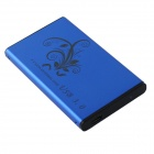 "Aluminum Alloy USB 3.0 2.5"" SATA External Case Mobile HDD Enclosure - Blue"