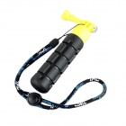 TMC G-546Y Handheld ABS + Rubber Stabilizer Grip for Gopro Hero 3+ / 3 / 2 - Black + Yellow