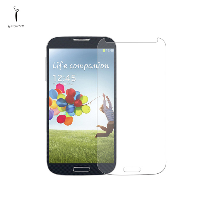 GODOSMITH MOS401B 0.3mm Tempered Glass Screen Guard Protector for Samsung Galaxy S4 - Transparent freezing rain protective durable tempered glass screen guard for samsung galaxy s3 transparent