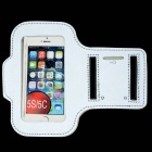 Reflective Arm Band para iPhone 4 / 4S / 5S / 5C - Prata