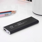 "BP ""4000mAh"" Aluminum alloy Li-polymer Mobile Power Source for IPHONE 6 / 5S / Samsung - Black"
