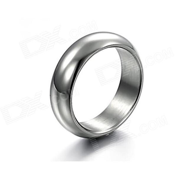 Mens Simple Classic 316L Stainless Steel Ring - Silver - DXRings<br>Color Silver Quantity 1 Piece Shade Of Color Silver Material 316L stainelss steel Gender Men Suitable for Adults U.S Size 7 Ring Diameter 1.7 cm Ring Circumference 0.6 cm Packing List 1 x Ring<br>