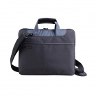 "KINGSONS KS3093W Universal Ultra Thin PVC Tote / Shoulder Bag for 11.6"" Laptops - Black"