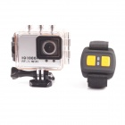 5.0MP Full HD 1080P Waterproof 50M Sport Camera DVR Camcorder w/ Wi-Fi H264 HDMI + IR Remote