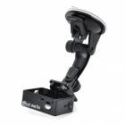 ABS + Aluminum Alloy Car Suction Cup Mount + Holder for GoPro 3 / 3+ - Black