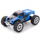 WLtoys A999 1.24 5-CH 2,4 GHz High Speed ​​R / C Car - Blau (4 x AA)