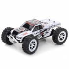 WLtoys A999 1:24 5-CH 2.4GHz High Speed R/C Car - White + Black (4 x AA)