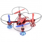 WLtoys V343 Outdoor 2.4GHz 4-CH Radio Control R/C Quadcopter - Red