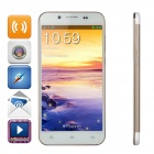 "ZOPO ZP1000 Android 4.2 Octa-core WCDMA Bar Phone w/5.0"" Screen, Wi-Fi and ROM 16GB - White + Golden"