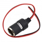 MaiTech DIY 12~24V Car Cigarette Lighter Charger - Black + Red